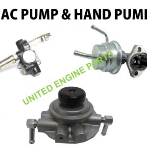 Fuel Injection pump & A C Pump & Hand pump